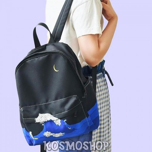 'Monsoon' aesthetic backpack
