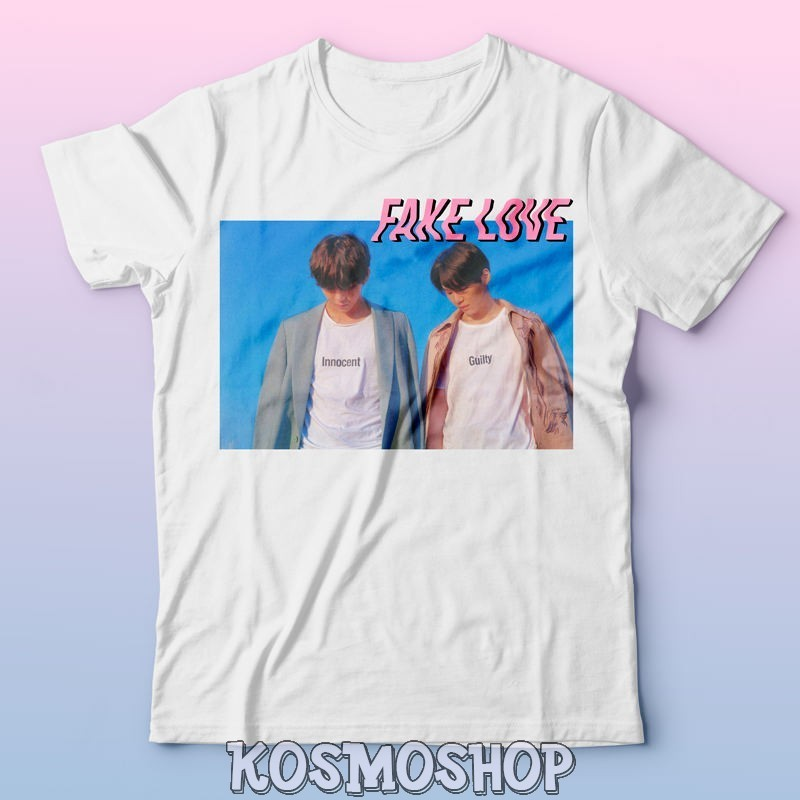 """BTS Fake love"" t-shirt"