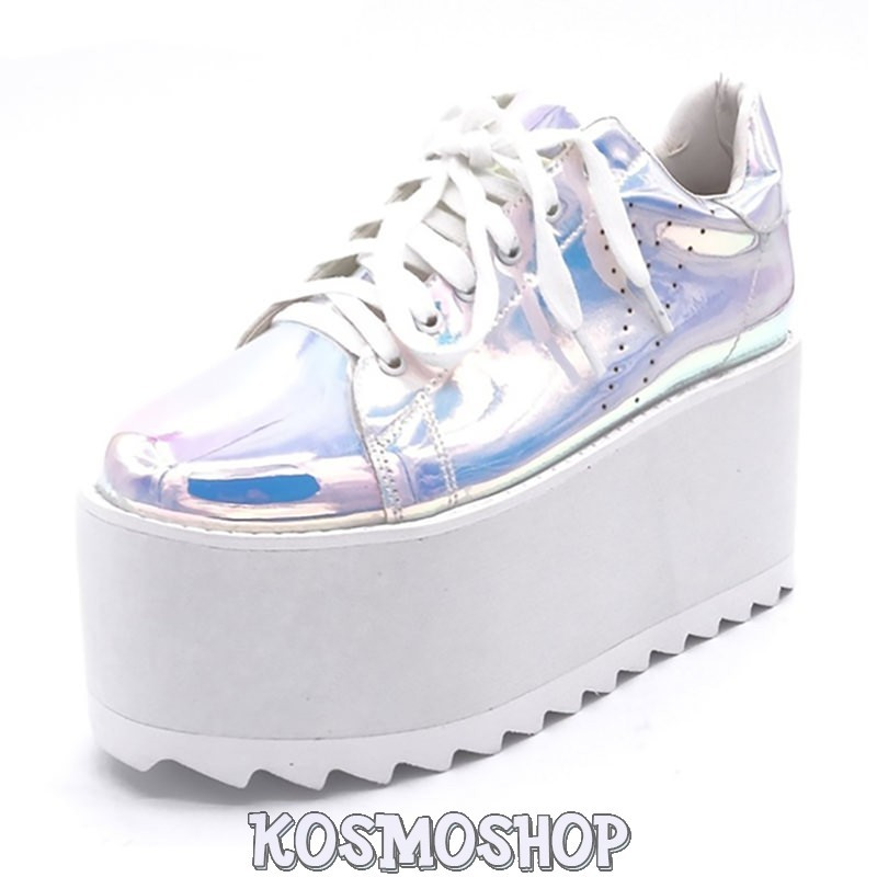 5bad3e644af0c1 Alien princess holographic sneakers · Alien princess holographic sneakers  ...