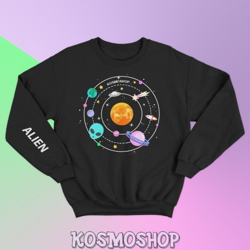 'Alien' sweatshirt