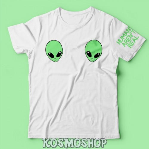 'Alien tits' t-shirt