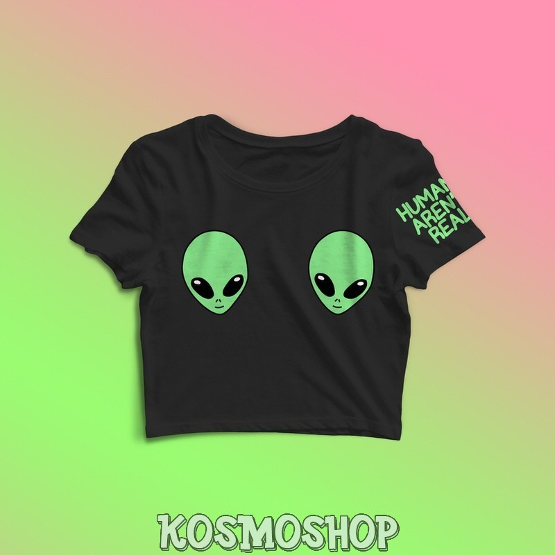 'Alien tits' crop top