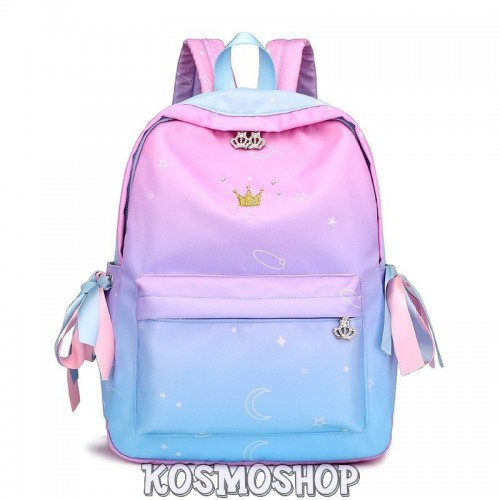 'Space Princess' gradient backpack