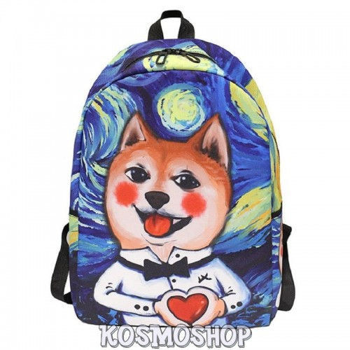 'Van Dog' artsy backpack