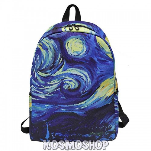Artsy backpacks