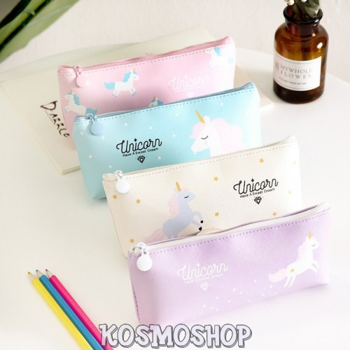 """Aesthetic unicorn"" pencil case"