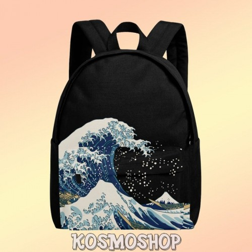 'The Great Wave off Kanagawa' backpacks