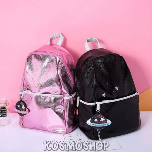 """Around the world"" backpacks"