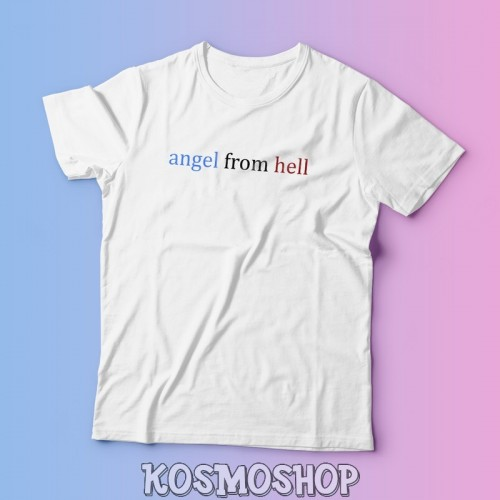 'Angel from Hell' t-shirt