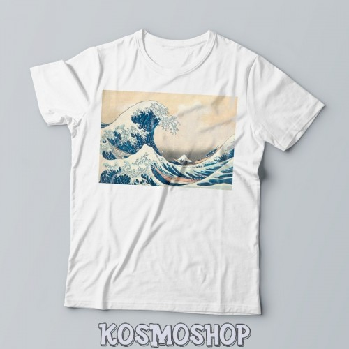 'The Great Wave off Kanagawa' t-shirt