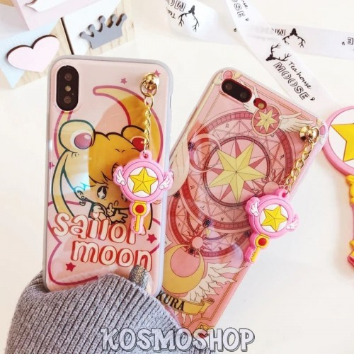"Чехол ""Сейлор Мун / Sailor Moon"" на iPhone 6 6s / 6 6s plus / 7 7 plus / 8 8plus / X XS / XS Max / XR"