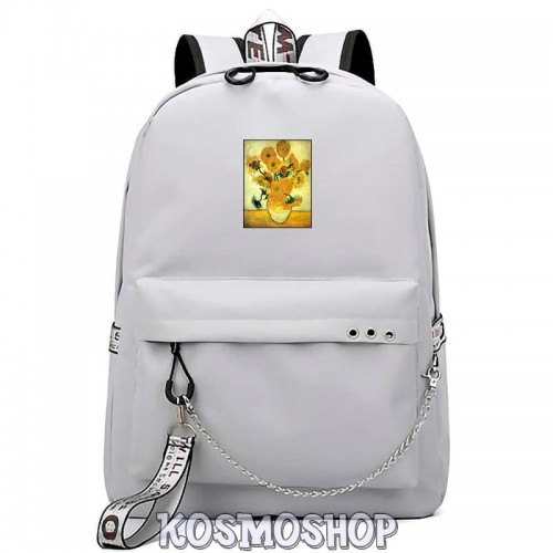 "'Artsy"" van Gogh Michelangelo Kosmoshop chained backpack"