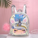 'Unicorn' holographic transparent backpack