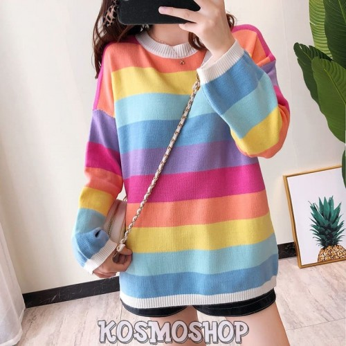 'Rainbow' sweater