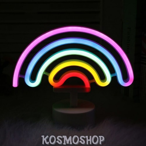 'Rainbow' light - USB night lamp, neon, room decor