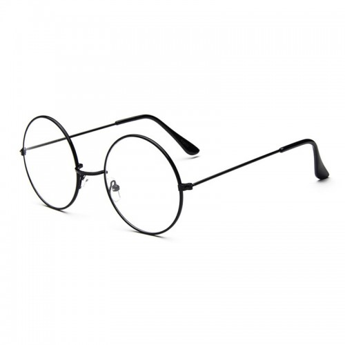 'Circle' glasses - round, transparent
