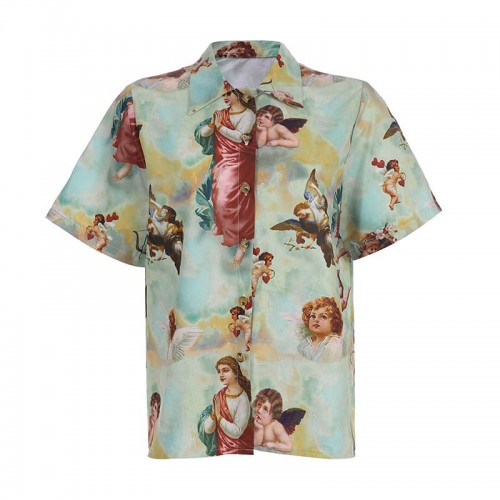 'Vintage' shirt- art, angels, blouse