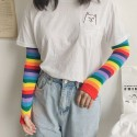 'Rainbow' sleeves