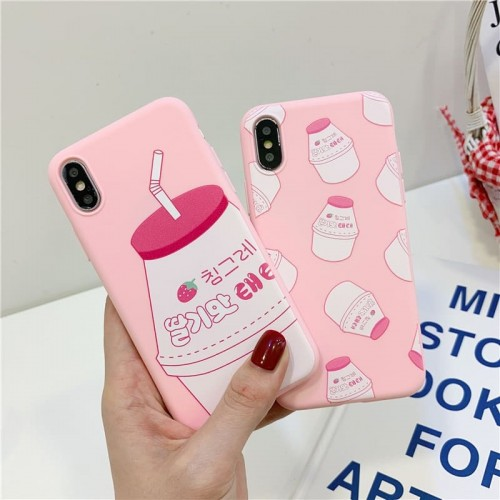 'Strawberry drink' iPhone case