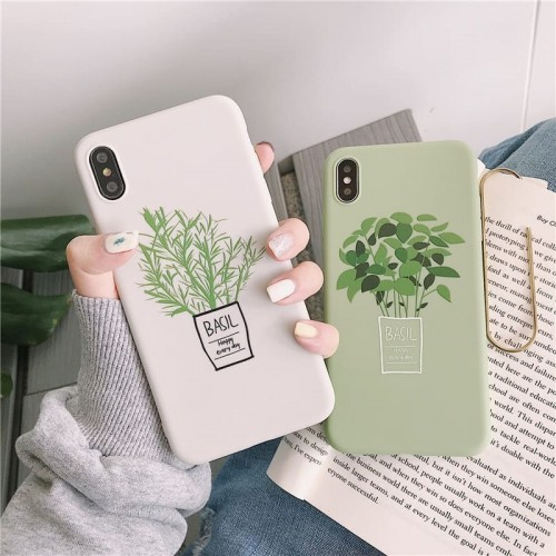 'Aesthetic plants' iPhone case