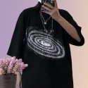 'Nebula' t-shirt - space, oversized
