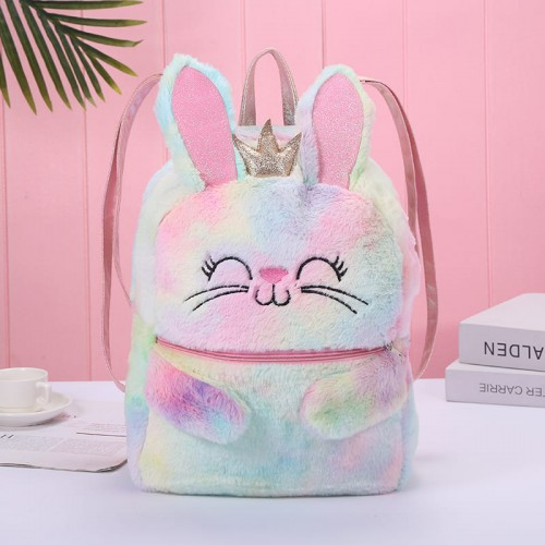 'Plush  bunny' backpack - cute, kawaii, soft