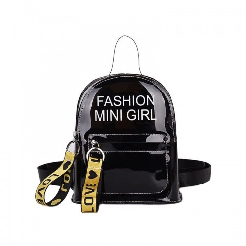 'Mini girl' backpack - transparent