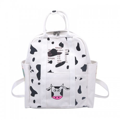 'Cow' backpack + bag gift