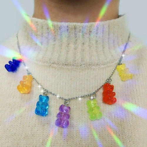 'Marmalade bear' necklace