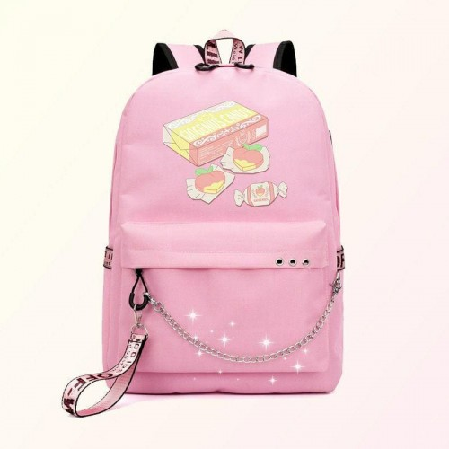 'Fake promises' backpack - e-girl, anime, Kosmoshop