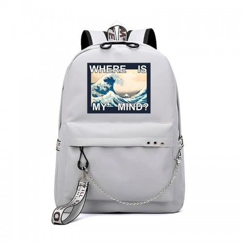 'Where is my mind' backpack