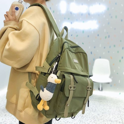 'British day' backpack + duck pendant
