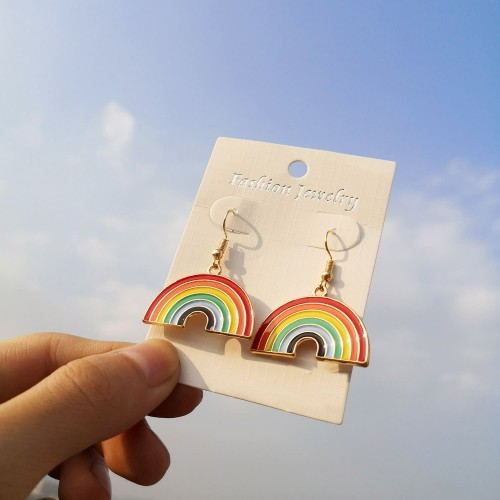 'Rainbow' earrings