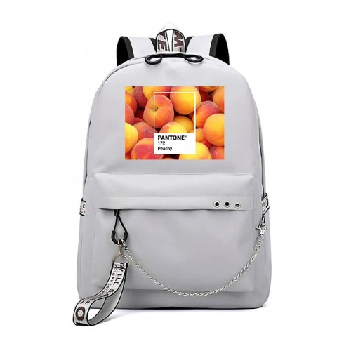 'Pantone peachy' backpack