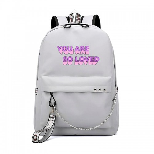 'You are so loved' backpack