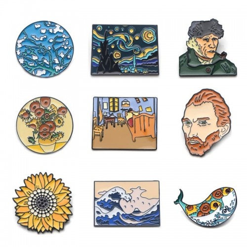 'Van Gogh' pin - 1 pc