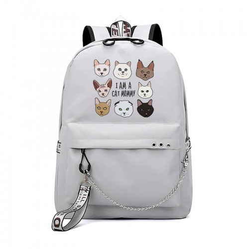 'I'm a cat, mommy' backpack