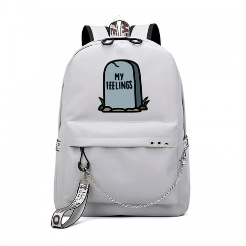 'RIP my feelings' backpack