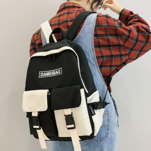 '2 colors' backpack