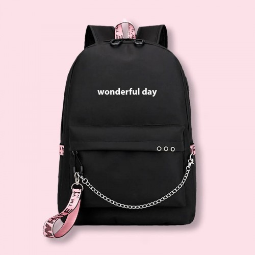 'Wonderful day' backpack