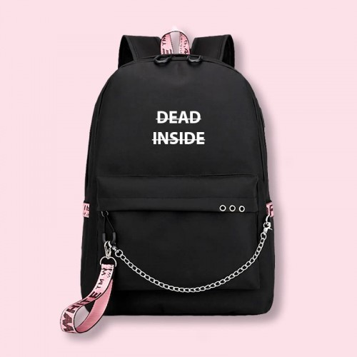 'Dead inside' backpack