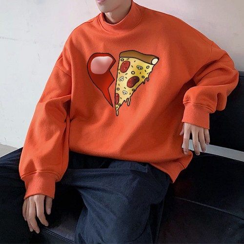 'Pizza love' sweater