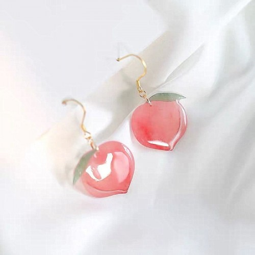 'Peach' earrings