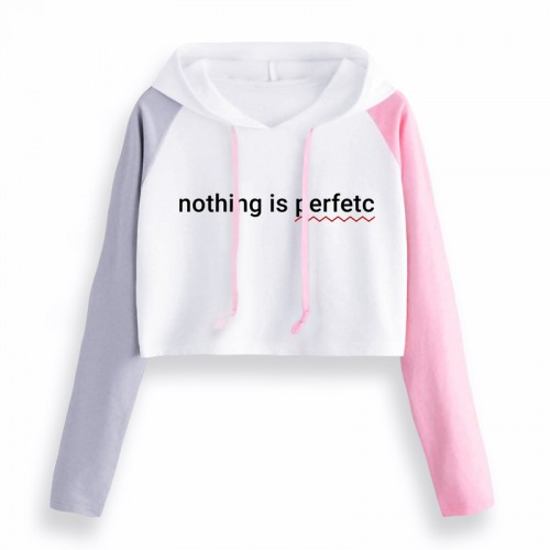 'Nothing is perfect' crop top