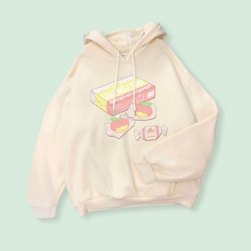 'Giogenius candy' hoodie - merch, blogger, aesthetic, sweet, candy