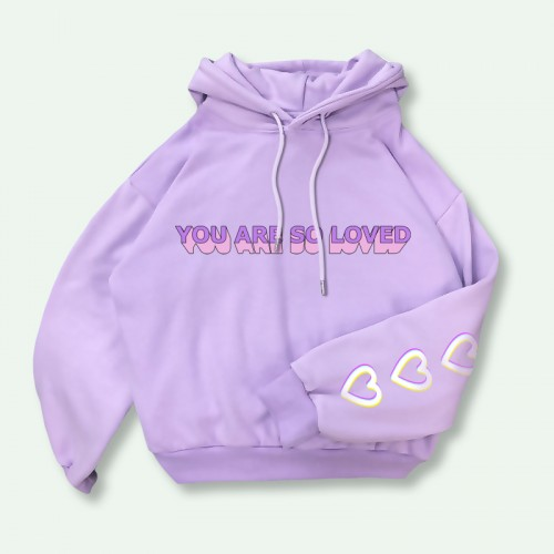 'You are so loved' hoodie
