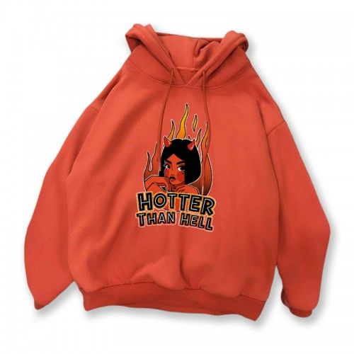 'Hotter than hell' hoodie