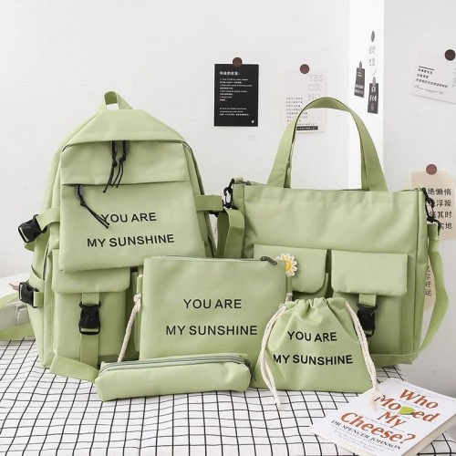 'You are my sunshine' bags - 5pcs/set