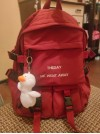 'Theday me went away' backpack