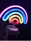 'Rainbow' neon light - USB night lamp, room decor